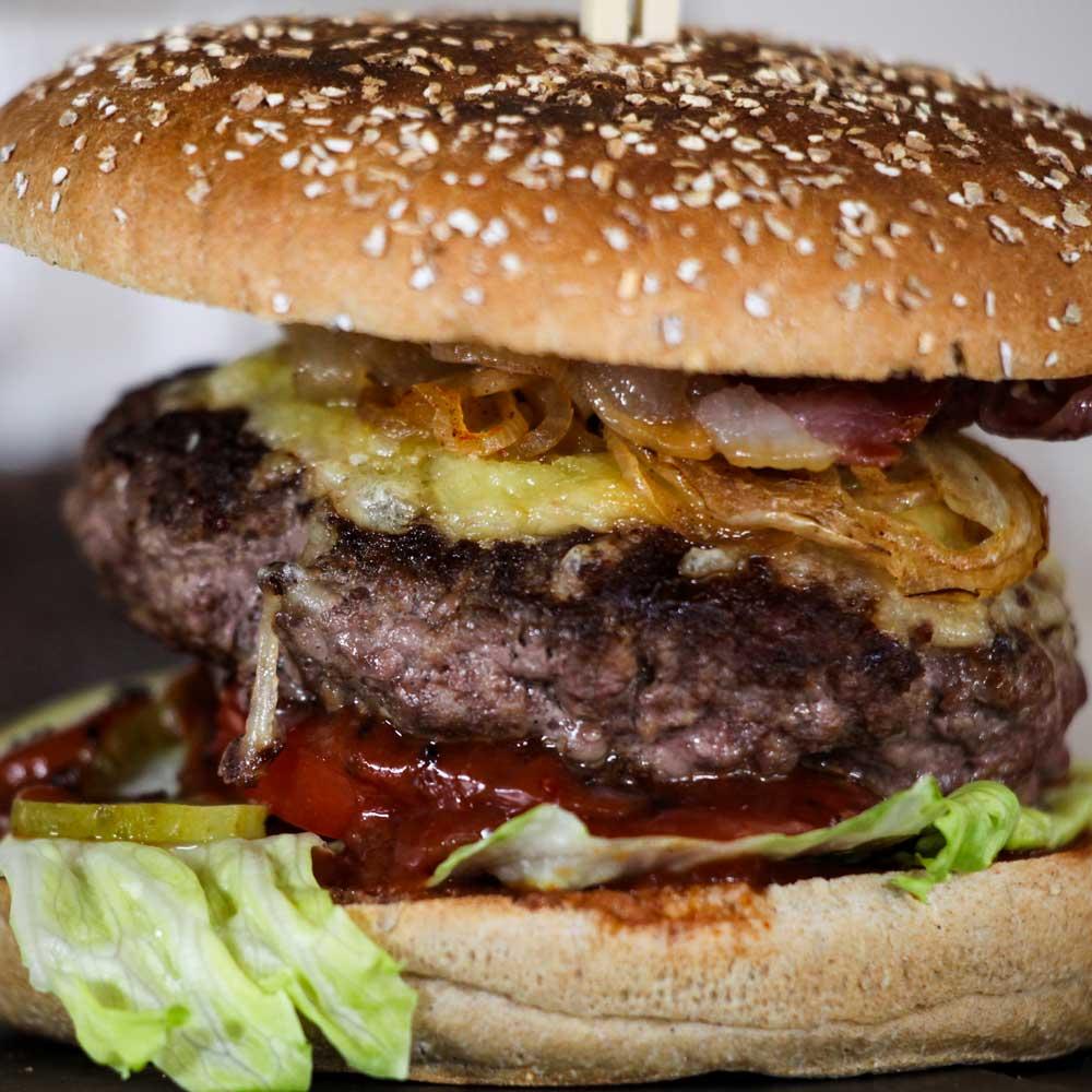 BBQ Burger Schebbfleffl